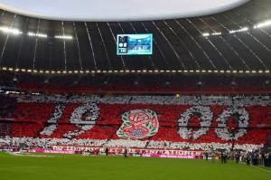 Tifo de la Südkurve pour les 110 ans du club