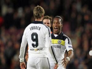 Torres et Drogba