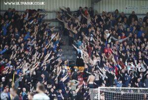 Supporters des Rangers lors de la finale des U17