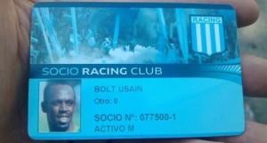 La preuve de l'improbable dernier socio du Racing.