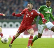 Leaders Bayern Munich beat Werder Bremen 7-0 in the Bundesliga at the weekend