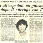 La une d'un journal à l'honneur de Stefano suite à la bavure