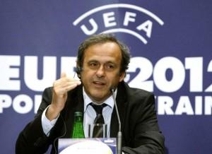 Michel Platini. Crédit photo : P. Andrew /  Reuters