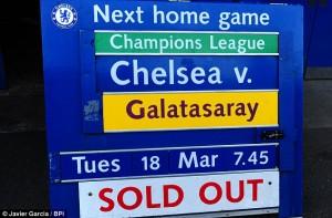 Match à guichet fermé prévu à Stamford Bridge (DR)