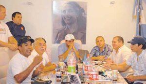Réunion des chefs de Hinchadas Unidas Argentinas en 2010