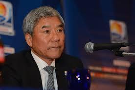 Kuniya Daini, président de la Fédération de football japonais. (DR)