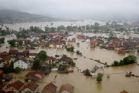 La Bosnie et la Serbie touché par la pire inondation depuis un siècle. (DR)