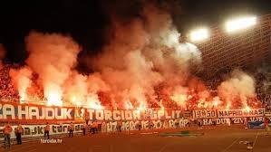 La Torcida Split lors de la réception du Dinamo Zagreb. (DR)