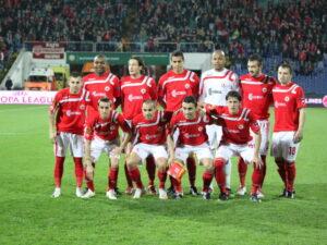 Les joueurs du CSKA Sofia réclament les salaires impayés. (DR)
