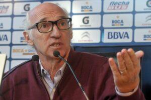 Carlos Bianchi lors de la première conférence de presse de la saison. (DR)