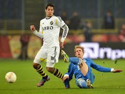 Celso Borges sous le maillot de l'AIK. (DR)