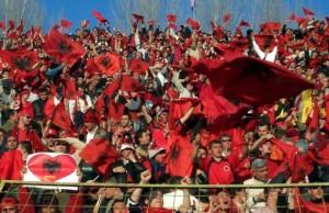 Les supporters Albanais feront le déplacement jusqu'à Belgrade le 14 octobre prochain. (DR)