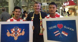 Le président de la HNS, Davor Suker se paie du bon temps en Thaïlande. (DR)