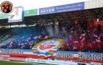 Le kop du FC Hansa lors de la rencontre face au Dynamo Dresde le 29/11/2014 (DR)