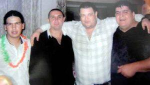Monchi Cantero avec Pillin Bracamonte et deux barras de Newell's