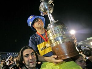 Riquelme et la copa Libertadores