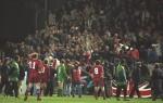 Le déplacement des supporters Anglais le 15 février 1995 pour Irlande-Angleterre. (DR)