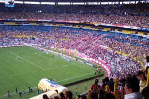Le Jalisco pendant un match de l'Atlas. (Wikimedia Commons)