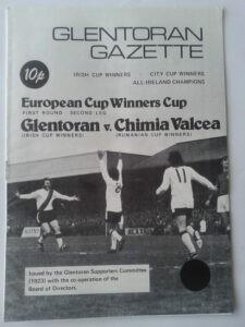 Le programme du match de coupe d'Europe Glentoran - Chimia Ramnicu Valcea
