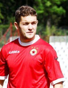 Sergiu Bus, meilleur buteur du CSKA cette saison