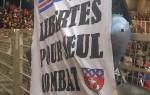 Message des ultras parisiens en déplacement à Nantes. (DR)