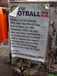 L'affiche découverte aujourd'hui dans Berlin (Crédits : Union in Englisch)
