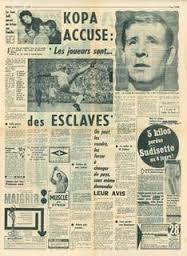 Kopa lâche une bombe dans les journaux en 1963