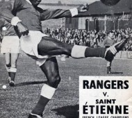 Le programme du match de coupe d'Europe Rangers vs Saint-Etienne