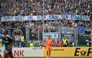 """""""2011 ? Même Rudi n'arrive pas à s'en rappeler"""" (Photo : AP/Martin Meissner)"""