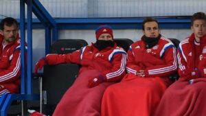 Schweinsteiger et Götze cirent le banc bavarois. - AFP