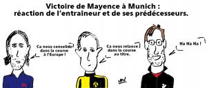 Mayence bat le Bayern