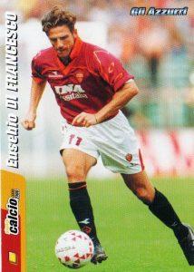 as-roma-eusebio-de-francesco-234-planeta-calcio-2000-italian-football-trading-card-29490-p