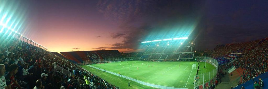 Le mythique stade Pedro Bidegain de San Lorenzo. (Malik B.)