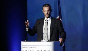 Le Slovène Ceferin élu à la présidence de l'UEFA. (DR)