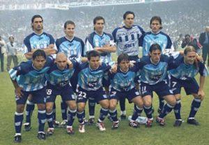 l'équipe championne de 2001