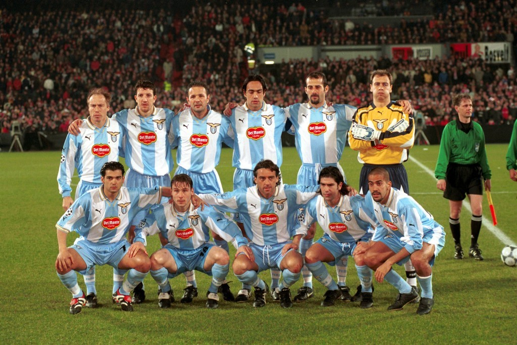ensemble de foot Lazio ÉQUIPE