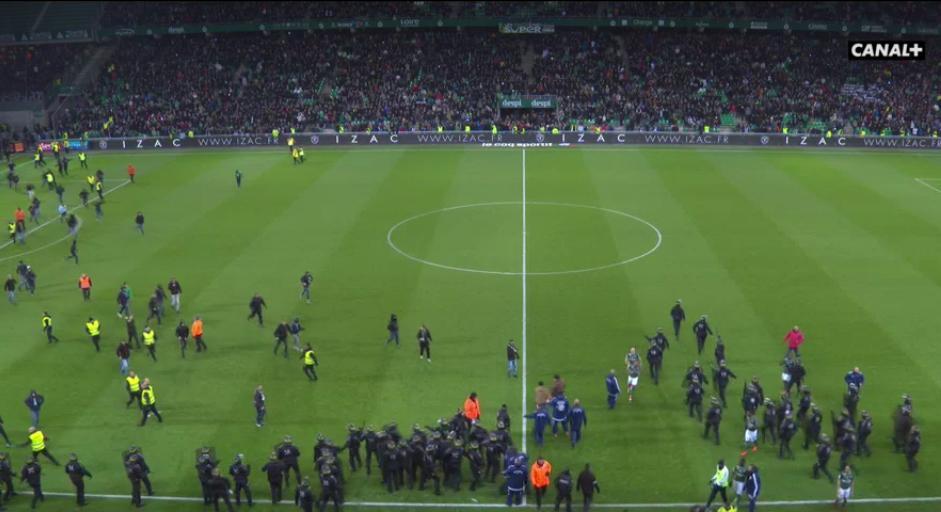 L1 - Lyon humilie St Etienne dans le chaudron !
